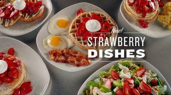 Perkins Restaurant & Bakery Strawberry Dishes TV Spot, 'Napkin'