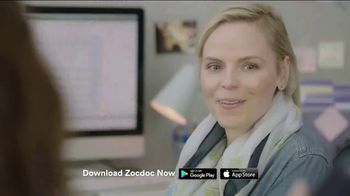 Zocdoc TV Spot, 'Not Helping'