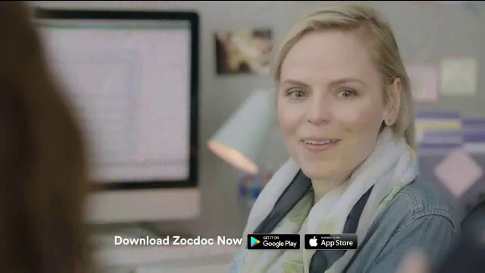 Zocdoc TV Commercial, 'Not Helping'