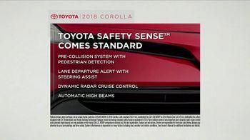 2018 Toyota Corolla TV Spot, 'Tested: Safety Sense' [T2] - Thumbnail 2