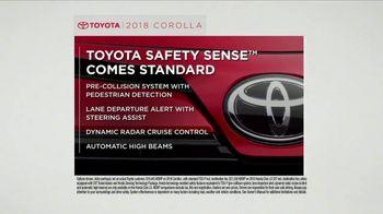 2018 Toyota Corolla TV Spot, 'Tested: Safety Sense' [T2] - Thumbnail 3