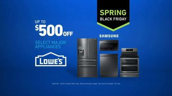 Lowe's Spring Black Friday TV Spot, 'Not Enough Oven: Appliances' - Thumbnail 10