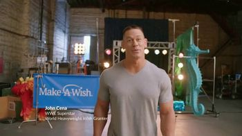 Make-A-Wish Foundation TV Spot, 'Wishes Take Muscle' Featuring John Cena
