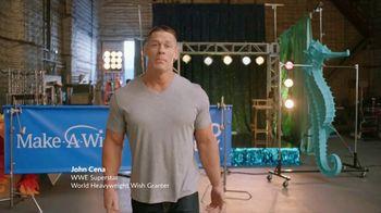 Make-A-Wish Foundation TV Spot, 'Wishes Take Muscle' Featuring John Cena - Thumbnail 1