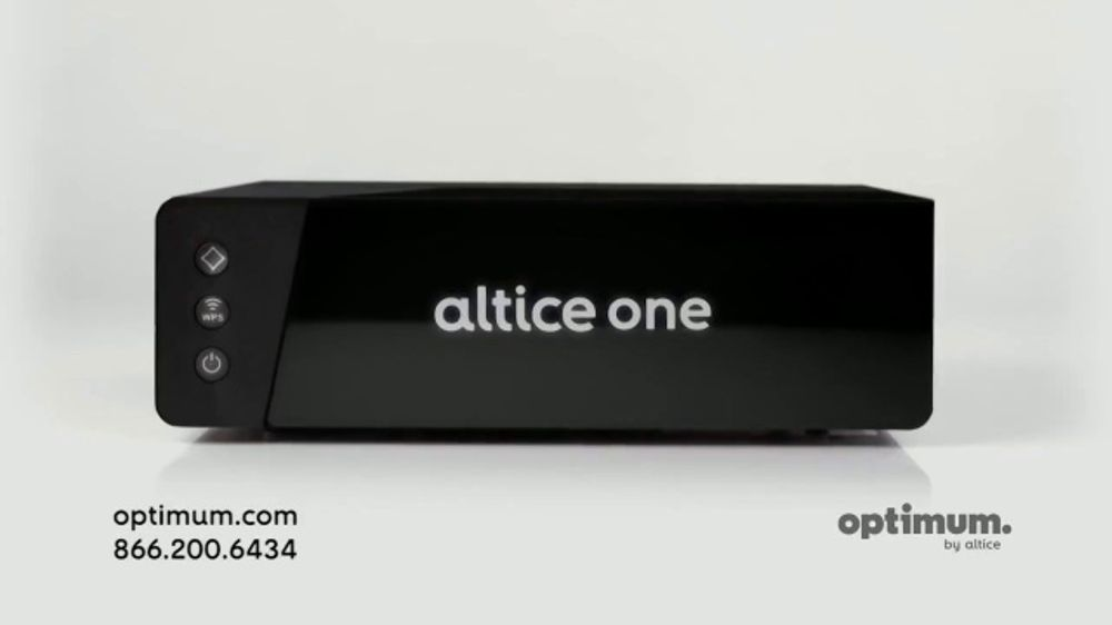 Optimum Altice One TV Commercial, 'Go All in'
