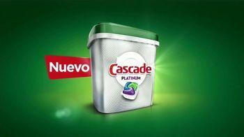 Cascade Platinum TV Spot, 'No lave antes del lavaplatos' [Spanish] - Thumbnail 6