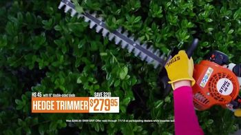 STIHL TV Spot, 'Real People: FS 38 and Hedge Trimmer' - Thumbnail 7