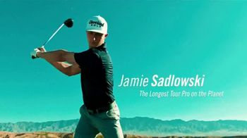Cleveland Golf Launcher HB TV Spot, 'It's Longer' Featuring Jamie Sadlowski - Thumbnail 2