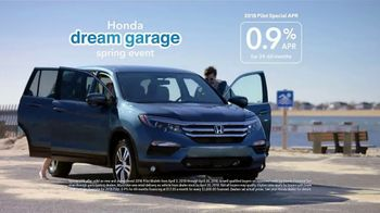 Honda Dream Garage Spring Event TV Spot, 'Spring Is in the Air' [T2] - Thumbnail 8