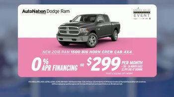 AutoNation Super Zero Event TV Spot, '2018 Ram 1500 & Dodge Durango' - Thumbnail 7