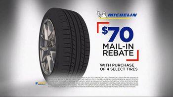 National Tire & Battery Big Brands Bonus Month TV Spot, 'Michelin Rebate' - Thumbnail 3