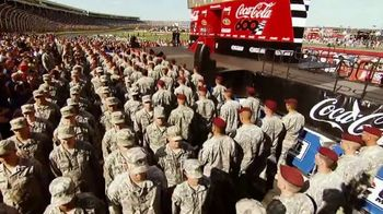 2018 Coca-Cola 600 TV Spot, 'Salute Our Troops' Song by Eli Young Band - Thumbnail 7