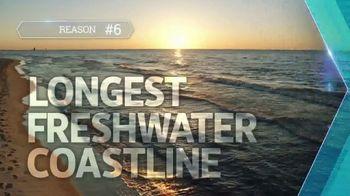 Pure Michigan TV Spot, 'Why Go?: Longest Freshwater Coastline' - Thumbnail 3