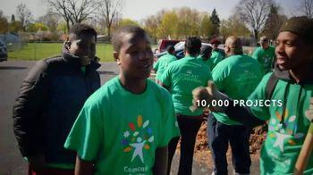 Comcast Cares Day TV Spot, 'Make the World Beautiful' - Thumbnail 5