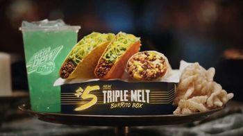 Taco Bell $5 Triple Melt Burrito Box TV Spot, 'The Secret Is Out' - Thumbnail 10