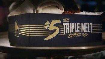 Taco Bell $5 Triple Melt Burrito Box TV Spot, 'The Secret Is Out' - Thumbnail 5