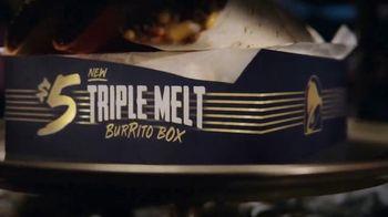 Taco Bell $5 Triple Melt Burrito Box TV Spot, 'The Secret Is Out' - Thumbnail 6