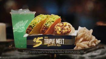 Taco Bell $5 Triple Melt Burrito Box TV Spot, 'The Secret Is Out' - Thumbnail 9