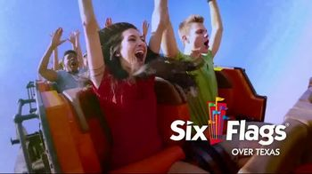 Six Flags Texas Combo Passes TV Spot, 'Go Big All Year' - Thumbnail 4
