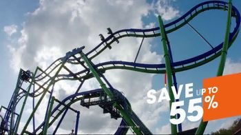 Six Flags Texas Combo Passes TV Spot, 'Go Big All Year' - Thumbnail 5