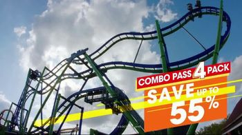 Six Flags Texas Combo Passes TV Spot, 'Go Big All Year' - Thumbnail 6