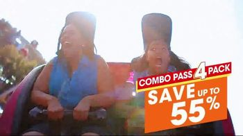 Six Flags Texas Combo Passes TV Spot, 'Go Big All Year' - Thumbnail 7