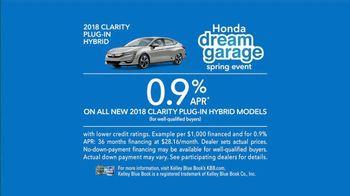Honda Dream Garage Spring Event TV Spot, 'Electrifying' [T2] Feat. James Hinchcliffe - Thumbnail 7