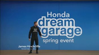Honda Dream Garage Spring Event TV Spot, 'Electrifying' [T2] Feat. James Hinchcliffe - Thumbnail 3