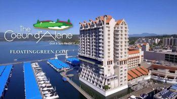 The Coeur d'Alene Resort TV Spot, 'Floating Green' - Thumbnail 8