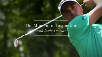 Rolex TV Spot, 'The Moment of Inspiration' Featuring Justin Thomas
