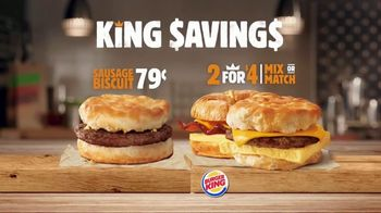 Burger King King Savings TV Spot, 'Breakfast Just Got Better' - Thumbnail 10