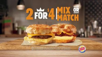 Burger King King Savings TV Spot, 'Breakfast Just Got Better' - Thumbnail 4