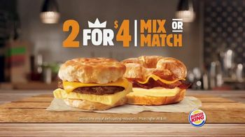 Burger King King Savings TV Spot, 'Breakfast Just Got Better' - Thumbnail 6