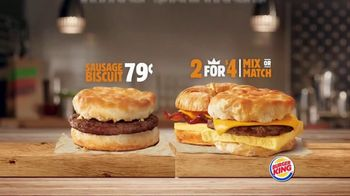 Burger King King Savings TV Spot, 'Breakfast Just Got Better' - Thumbnail 9