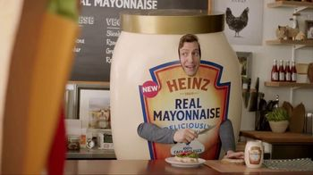 Heinz Real Mayonnaise TV Spot, 'Sandwiches Can't Resist the Taste'