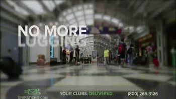 Ship Sticks TV Spot, 'Send Your Golf Clubs Ahead'