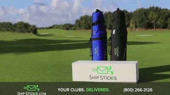 Ship Sticks TV Spot, 'Send Your Golf Clubs Ahead' - Thumbnail 4