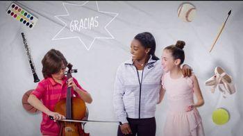 Mattress Firm Foster Kids TV Spot, 'Actividades' con Simone Biles [Spanish] - Thumbnail 9