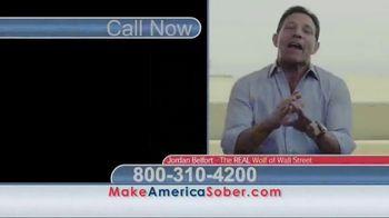 Make America Sober Again TV Spot, 'Wolf of Wall Street' Ft. Jordan Belfort - Thumbnail 2