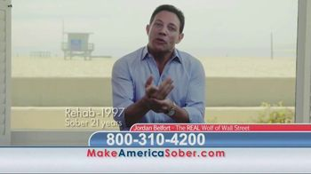 Make America Sober Again TV Spot, 'Wolf of Wall Street' Ft. Jordan Belfort