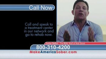 Make America Sober Again TV Spot, 'Wolf of Wall Street' Ft. Jordan Belfort - Thumbnail 9