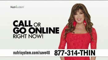 Nutrisystem Turbo 13 TV Spot, 'Save 40 Percent' Featuring Marie Osmond