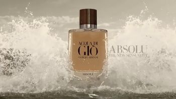 Giorgio Armani Acqua Di Giò Absolu TV Spot, 'Sensuality' - Thumbnail 10