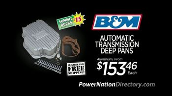 PowerNation Directory TV Spot, 'Deep Pans, Fan Kit and Oil Cooler'