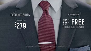 Men's Wearhouse TV Spot, 'Designer Moments' - 653 commercial airings
