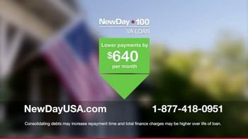 NewDay USA 100 VA Loan TV Spot, 'Navy Spouse' Featuring Tom Lynch - Thumbnail 8