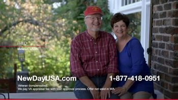 NewDay USA 100 VA Loan TV Spot, 'Navy Spouse' Featuring Tom Lynch - Thumbnail 9