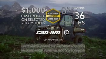 Can-Am Ready to Ride Sales Event TV Spot, 'Worth Doing Right' - Thumbnail 4
