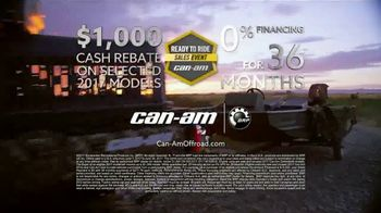 Can-Am Ready to Ride Sales Event TV Spot, 'Worth Doing Right' - Thumbnail 5