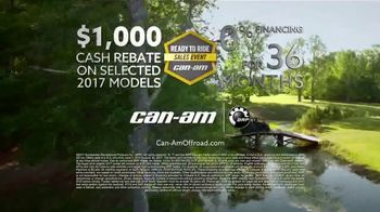Can-Am Ready to Ride Sales Event TV Spot, 'Worth Doing Right' - Thumbnail 6